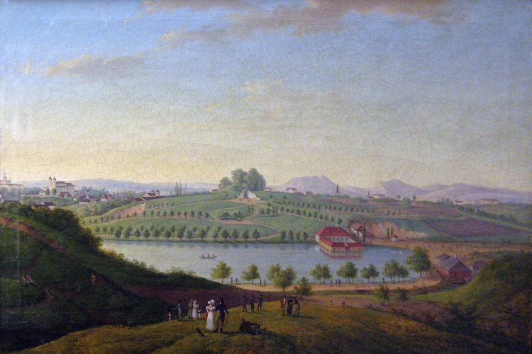 фото Територія, на якій побудували Парк Культури (1824) Львів